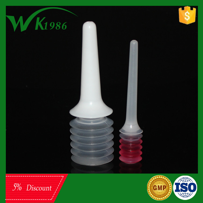 hot sell medical 5ml plastic douche for vagina washing