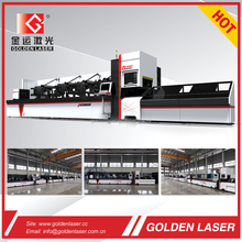 CNC Fiber Laser Cutter Pipe Laser Cutting Machine 1000W for Metal Tube