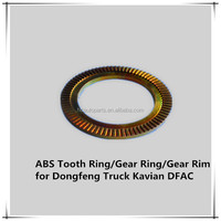 ABS DISC Braking Front Wheel Light Truck Parts ABS Tooth Ring Gear Rim for Dongfeng Truck Kavian DFAC
