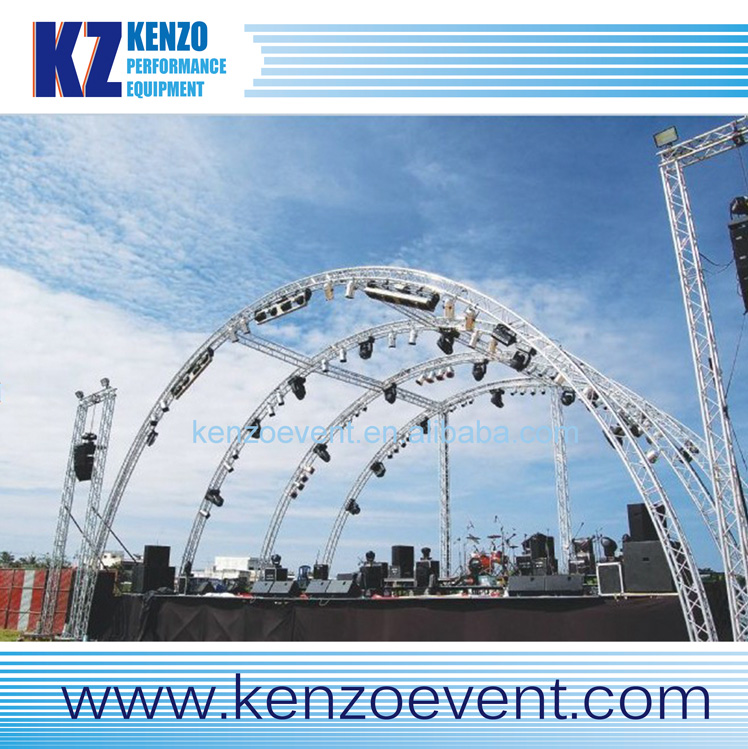 aluminum dome roof truss hanging stage lights/stage lighting moving head