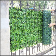 Outdoor artificial garden fence plastic ivy privacy fence with competitive price fence design