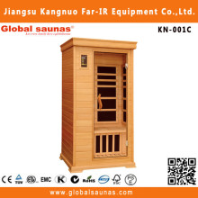 Canadian hemlock infrared sauna seattle for one person