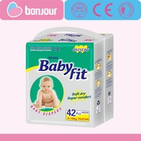2017 Hot Sell Cheap Factory Price Disposable Babyfit Baby Diaper