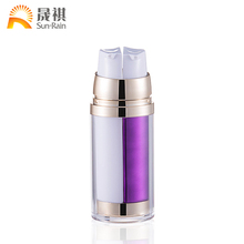 30ML 50ML 100ML Cosmetic acrylic airless body lotion bottle for acrylic travel lotion