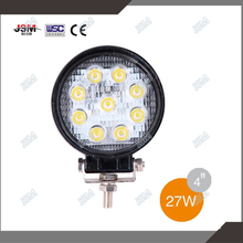 CE 12V 24V 4 inch 27w Round Led Truck Work Light