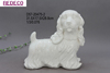Cutomized antique ceramic dog figurine