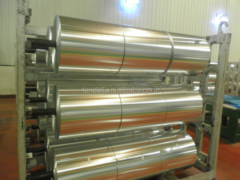 Food packaging aluminium foil packaging for Cuisine aluminium