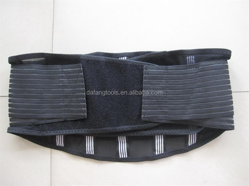 High quality Elastic adjustable lumbar back waist support belt