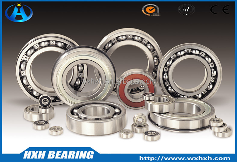 HXHV Deep Groove Ball Bearings 6200 series with China factory price