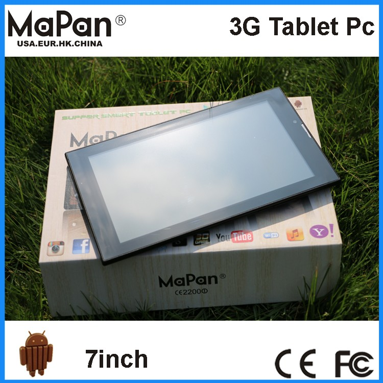 MaPan 7 inch mtk8312 Rohs Tablet Price Touch Tablet With Sim Card Made In China Competitive Price Tablet Pc