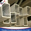 rectangular galvanized steel pipe for framing use / 2.5 inch galvanized square steel pipe