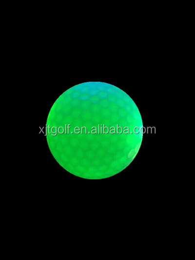 OEM Professional Customized Fluorescent Golf Balls