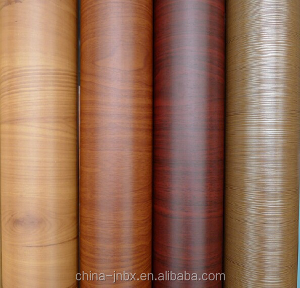 Embossed decorative PVC rigid film for doors, cabinets and floor