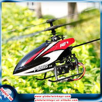 Hot selling item F47/F647 mini airplane model with gyro single blade 2.4g 4ch top-ranking electric remote control rc helicopter