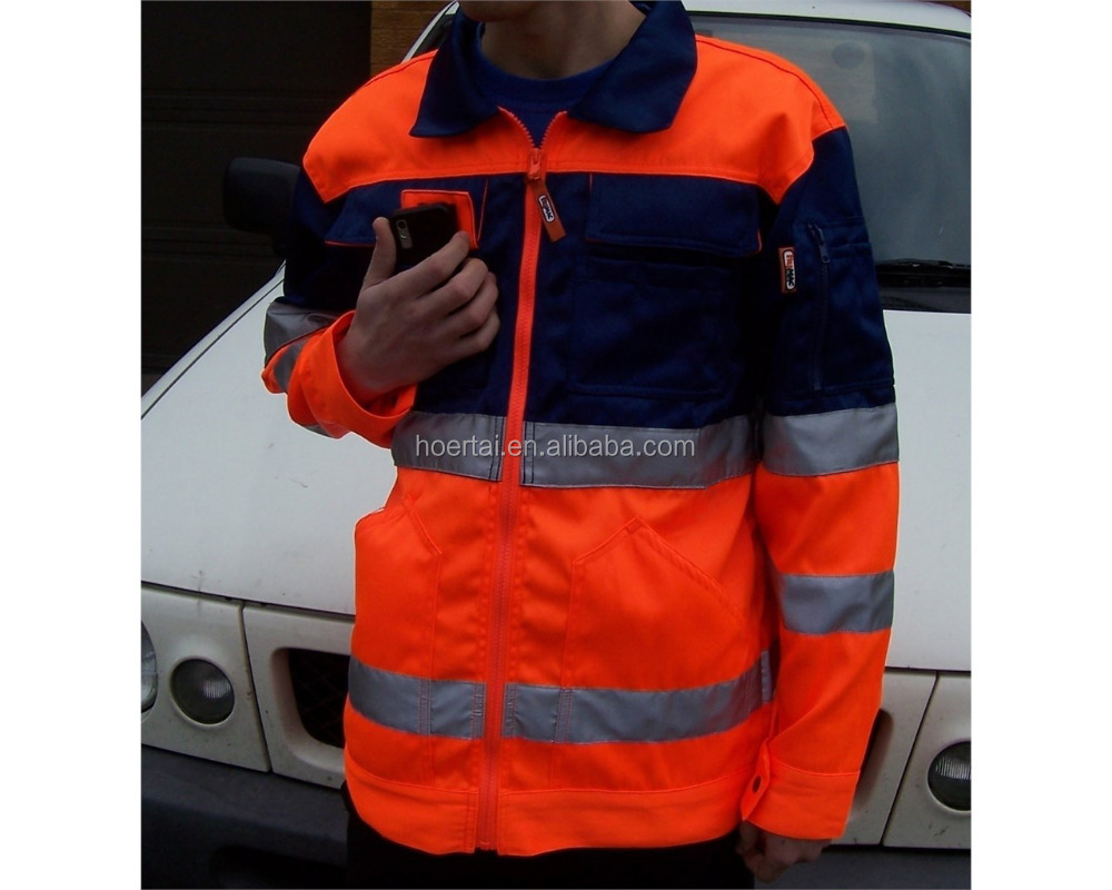 Cheap hot sale top quality hi-vis winter jacket