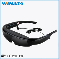 Full HD 1080P 98inch V-Screen Excellent Optical Design 3D Smart 3D Video Glasses
