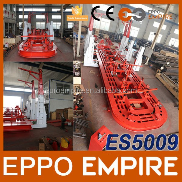 ES5009 Alibaba China machinery CE approved truck frame straightener/auto body frame machine/mobile repairing tool kit