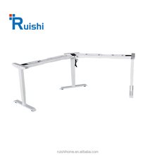 3 legs Electric Height Adjustable 90 120 degree Office Desk
