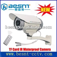 2012 hot sales digital H.264 DVR with ir waterproof TF card camera