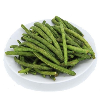 Healthy snack low fat dried vegetable green bean snacks dried stringless green bean