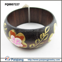Cheap wood bangle bracelets