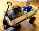 Wooden wagon Tool Cart TC1801 TC1831 for kids