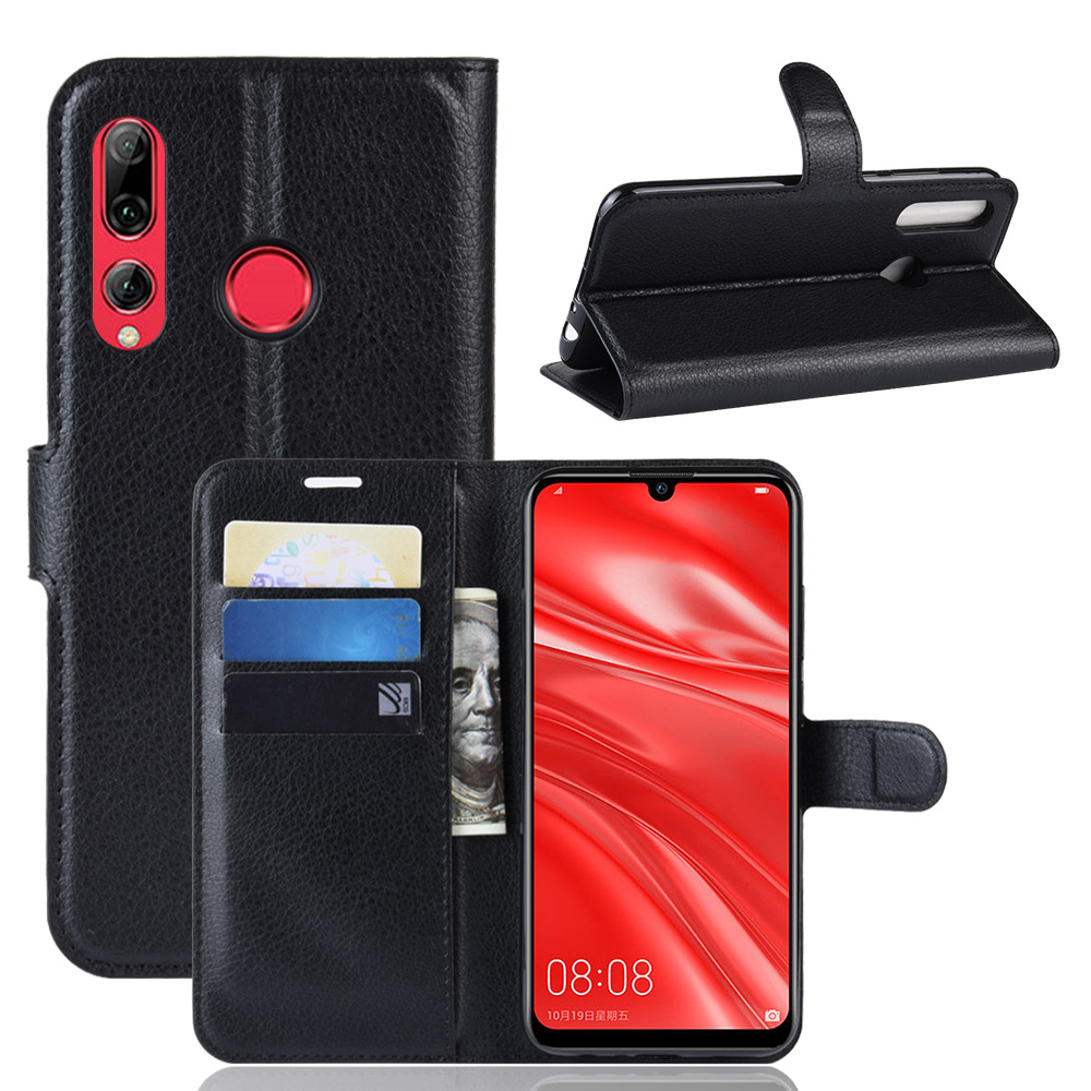 For <strong>P</strong> Smart Plus 2019 Case for <strong>P</strong> Smart + 2019 Cover for Huawei PSmart Plus PSmart + 2019 PU Leather Wallet Phone Case With Stand