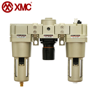 XMC AC5000-06 G3/4'' FRL Combination Air Service Unit Pneumatic Air Filter Regulator