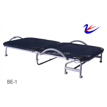 Durable Easy Storage Adjustable Single Guest metal folding Bed
