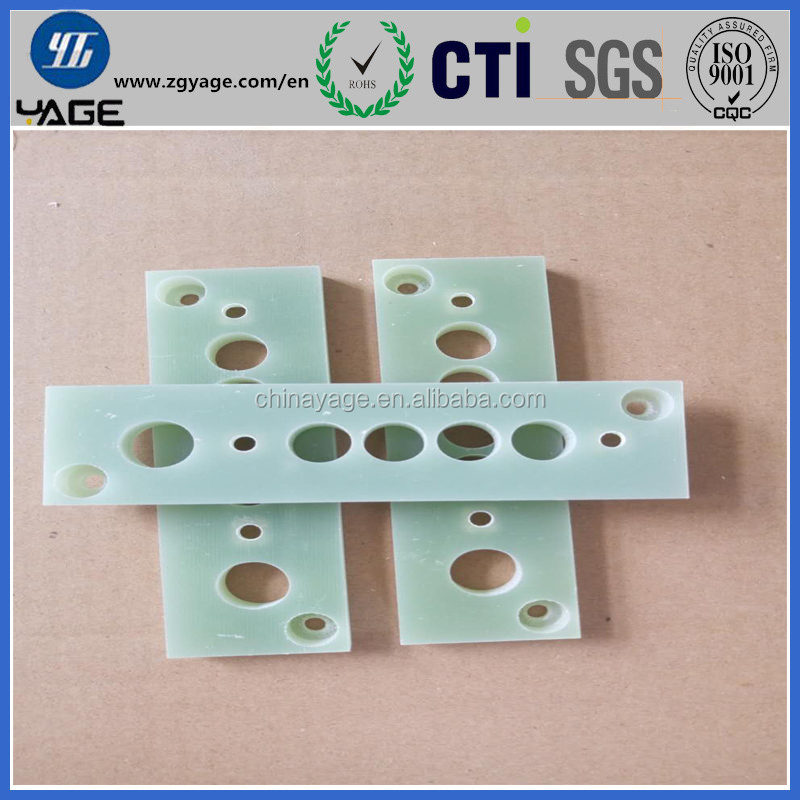 Insulation CNC Cutting Processed Products Epoxy Resin 3240 G10 G11 FR4 Fiberglasss Laminated Board