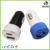 New arrival 2 USB Port 5V type c usb car charger for Smart Phone/Tablet/PC etc