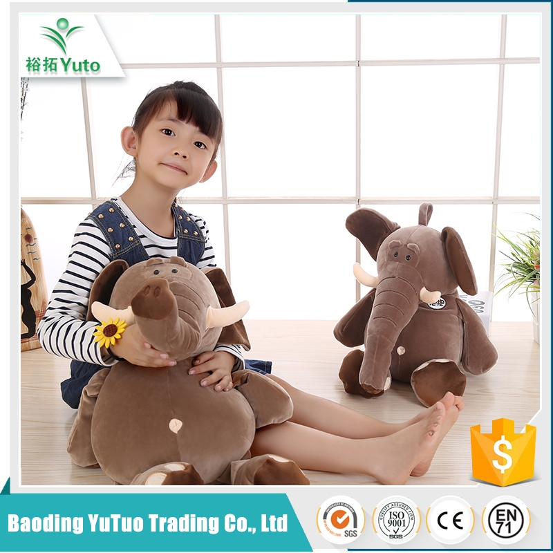 brand new design promotional multifunctional plush exotic elephant toy