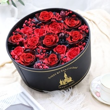 Customized everlasting love preserved rose flower <strong>gift</strong> for girlfriend wife lovers