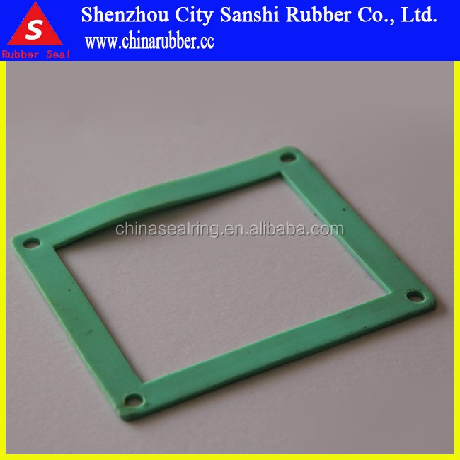customized rubber rectangular seal ring