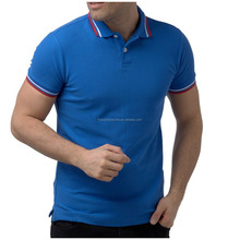 Short Sleeve 100% Pique Cotton Shirt for Men