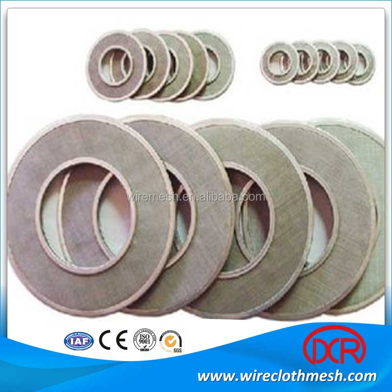 stainless steel wire mesh circle in steel wire mesh