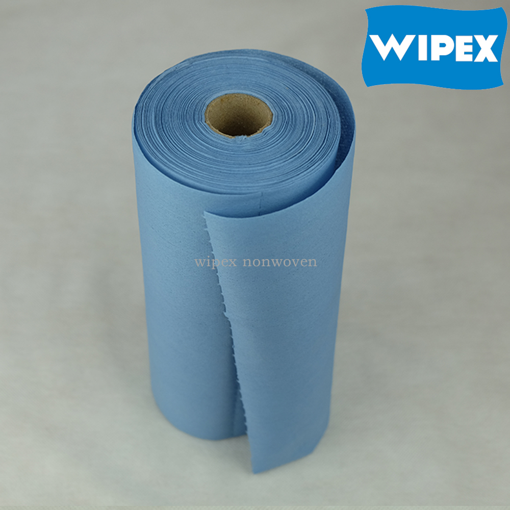 Eco-friendly non-woven disposable industrial cleaning cloth roll
