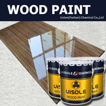 Wood UV curing paint protection varnish