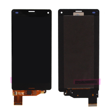 Best price cell phone original LCD display for Sony Xperia Z3 mini LCD touch screen replacement repair parts