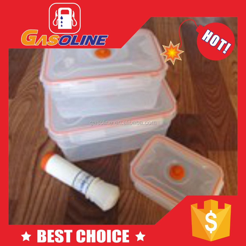 OEM new style plastic food container have vent hole