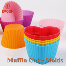 Reusable Silicone Baking Cups Cupcake Liners Stand Muffin Cake Molds