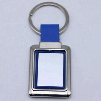 Funky cheap custom blank keychain steel