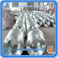 galvanized coat hanger wire / coil iron wire