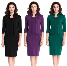 X86496A Elegant Ladies Women Clothing Spring Formal Office Pencil Dresses Philippines