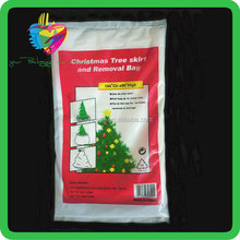 Yiwu high quality cheap wholesale plastic christmas tree removal bag
