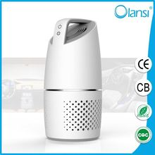 Car ozone air purifier for releasing negative ions to purify sterilize the air