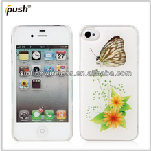 Beautiful Butterfly Phone Case Hard PC Case For iphone4