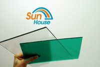 4*8 uv coated polycarbonate panels roofing