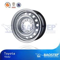 BAOSTEP universal Retail 15x10 steel wheels