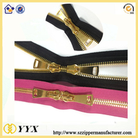 All kinds of 2 way double sided open end zipper 2 way zipper